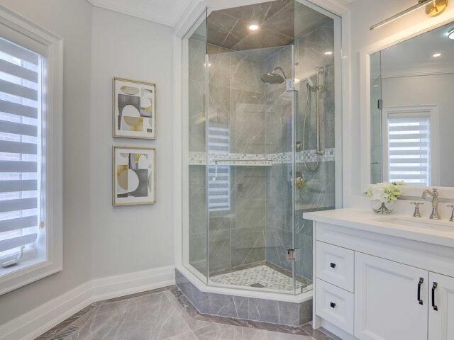 custom bathroom in amazing home