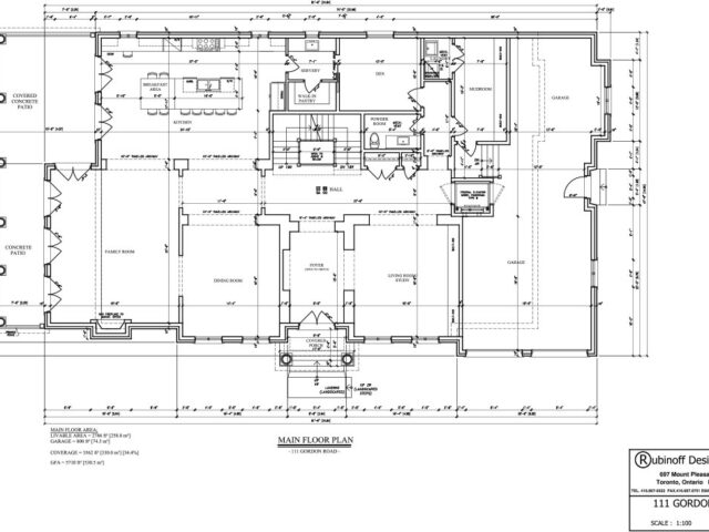 Home Addition Blueprint
