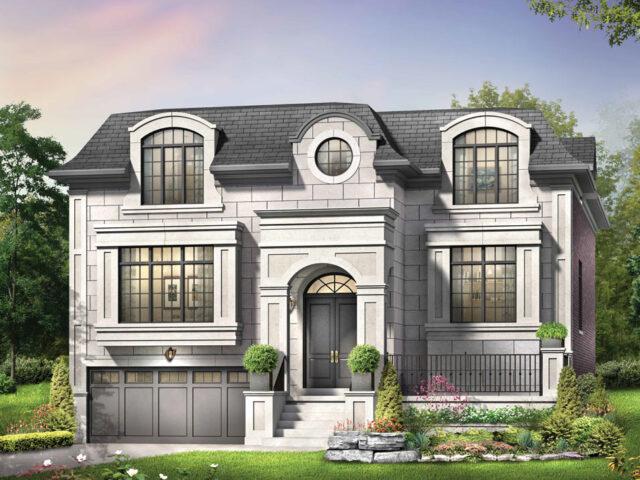 3D Render of Custom Home