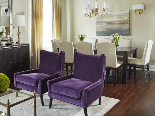 Classic Dining Room Design in Amazing Custom Home