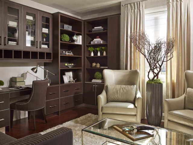 Modern Home Office Project by Torino Constructions