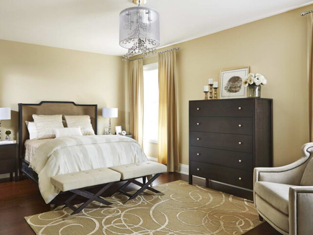 Luxury Bedroom in Custom Home Toronto