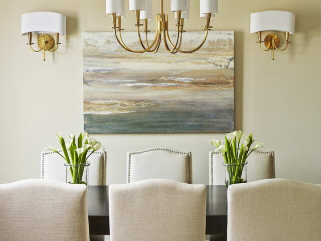Amazing Dining Room Design in Custom Home