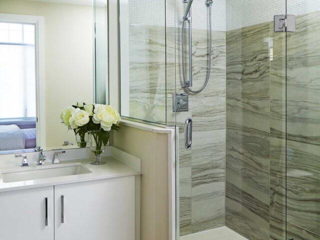 Small Bathroom Renovation in Custom Home