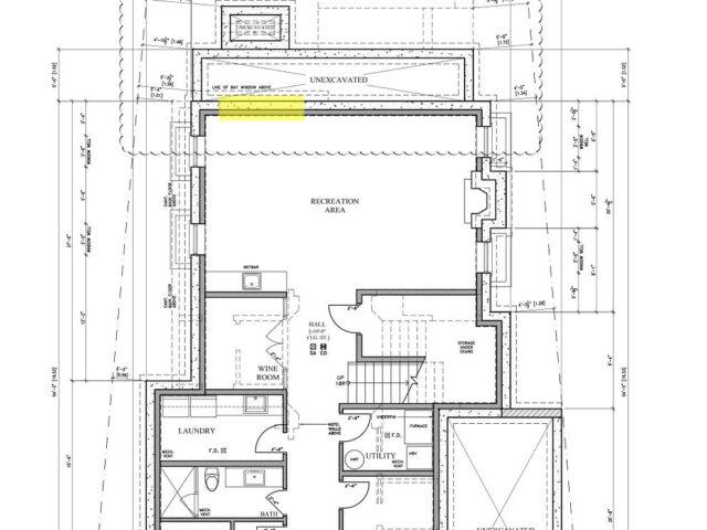 blueprint of custom home